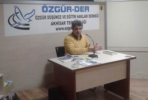 Akhisar'da ''Liberalizm ve Liberal Çevreler'' Semineri