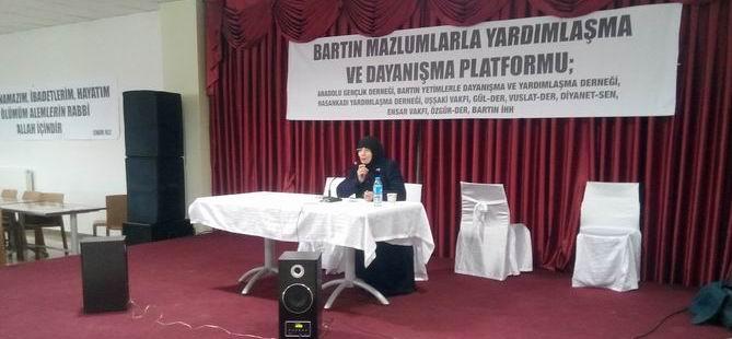 Bartın'da Suriyeli Mazlumlarla Dayanışma Kahvaltısı