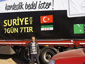 Gebze'den Suriye'ye Yardım Tırı