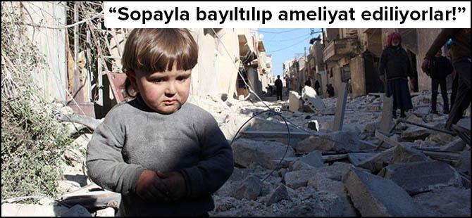 Suriye'deki Çocukların Dramı