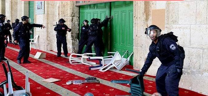 """""""İsrail Tehlikeli Provakasyonlar İçinde"""""""