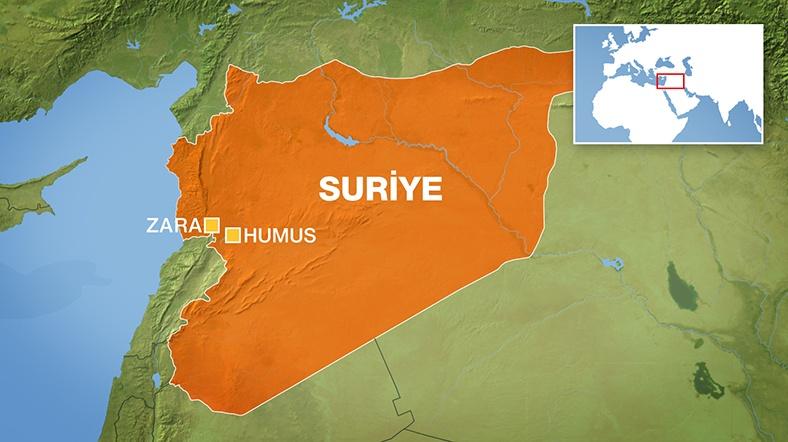 Humus'ta 150 Türkmen Katledildi