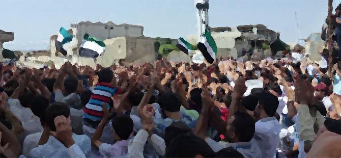 Suriye İntifadasının 4. Yılında Meydanlardayız