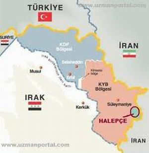 Irak Kürt Bölgesel Yönetimi Halepçe'yi İl İlan Etti