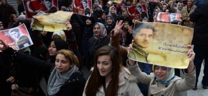 Gezicilerin Saldırısında Ölen Burak Karamanoğlu Defnedildi