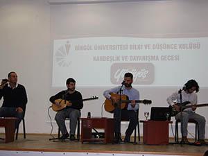Grup Yürüyüş, Bingöl Üniversitesinde Konser Verdi