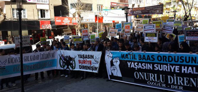 Suriye Direnişi Diyarbakır'dan Selamlandı