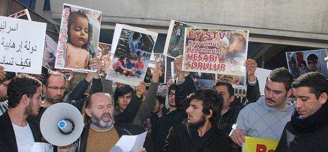 Filistin Platformu'ndan STV'ye Protesto