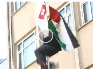 Filistin Bayrağını İzah Edemeyen Haber!
