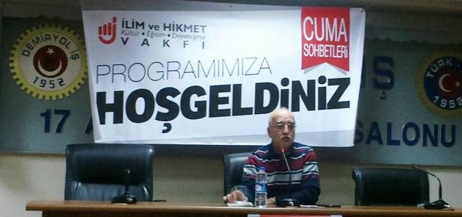 Hamza Türkmen, İlim ve Hikmet Vakfında Seminer Verdi