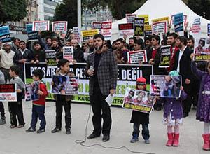 Adana da Suriye İntifadasını Selamladı (FOTO)