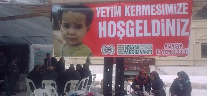 Amasya'da Yetimler Yararına Kermes Düzenlendi