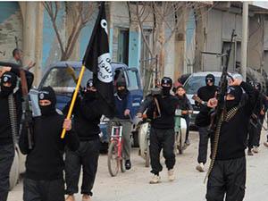 IŞİD, Kobani Şehir Merkezinin Önünde