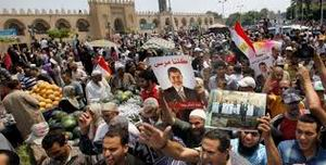 Mısır'da Darbe Karşıtları Meydanlarda