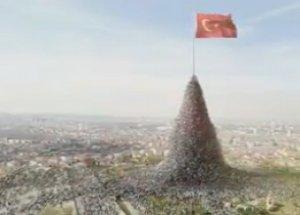 AK Parti'nin Bayraklı Reklamı Yasaklandı