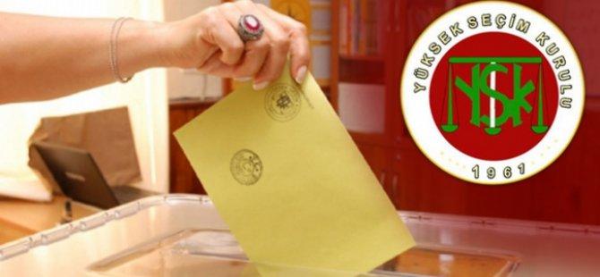 YSK, Seçim Çevrelerini ve Milletvekili Sayısını Açıkladı