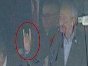"""Kemal Kılıçdaroğlu'ndan """"Bozkurt"""" İşareti (VİDEO)"""