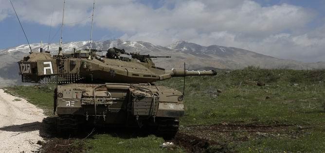 Golan'da Sular Isınıyor