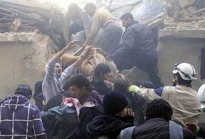 Esed Yine Varil Bombasıyla Saldırdı: 11 Ölü