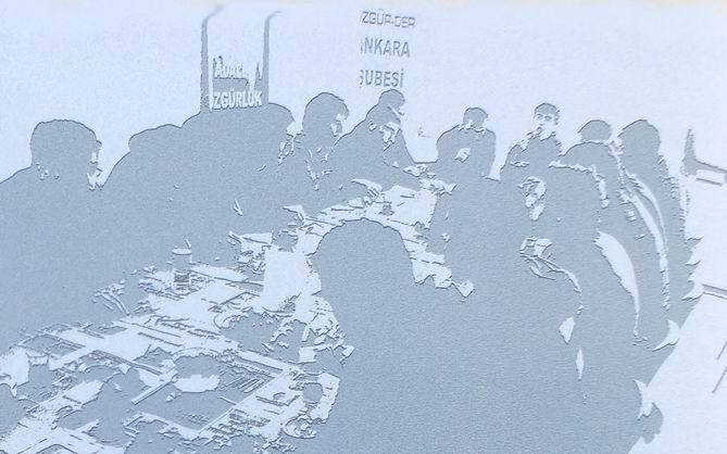 Ankara Özgür-Der Gençliği Çalışmalarını Yayınladı