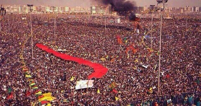 Newruz Kutlamalarında Öcalan'ın Mesajı Okundu