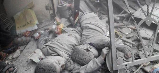 Suriye'de Dün 96 Kardeşimiz Katledildi (VİDEO)