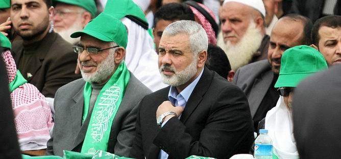 Hamas Gösterisinde Mısır'a Tepki