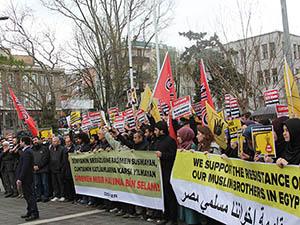Mısır'daki İdam Kararları Saraçhane'de Protesto Edildi