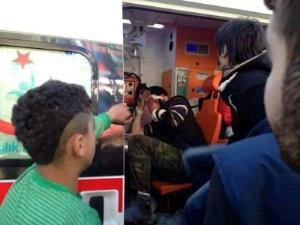 Hatay'da Yaralı Suriyeli'ye Linç Girişimi!