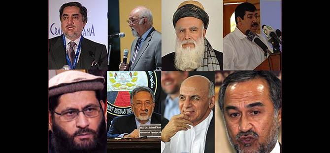 Afganistan Seçimlerinde Kim Kimdir?