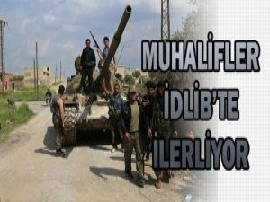 Direnişçilerden İdlib'te Hizbullah ve Rejime Darbe