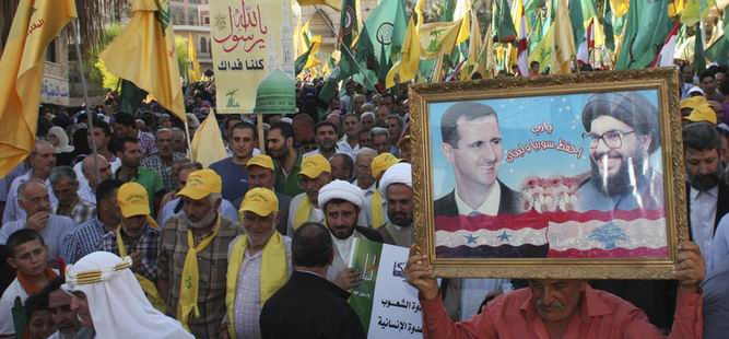 Nasrallah ve İran'dan Esed'e Tebrik
