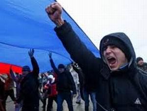 Donetsk'te Rus Yanlıları Tek Taraflı Bağımsızlık İlan Etti