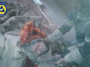 Esed Çetesi Yine Varil Bombalarıyla Saldırdı