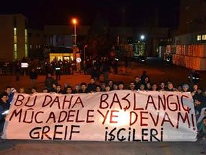 İstanbul'da Eylemci İşçilere Baskın: 50 Gözaltı