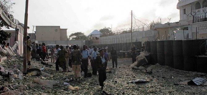 Türkiye'nin Mogadişu Büyükelçiliği İnşaatına Saldırı