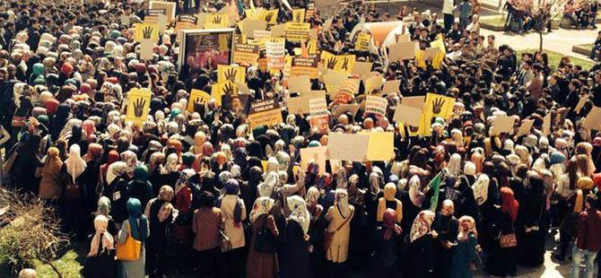19 Mayıs Üniversitesi'nde Mısır Eylemi
