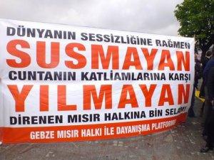 Cuntanın İdam Kararları Gebze'de Protesto Edildi
