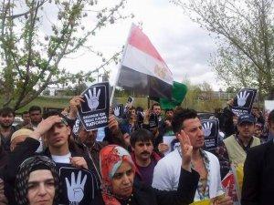 BM Önünde İdam Kararları Protesto Edildi