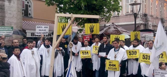 Bartın'da Cuntanın İdam Kararları Protesto Edildi