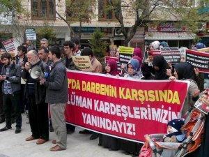 KTÜ Özgür-Der Gençliğinden İdam Kararlarına Protesto