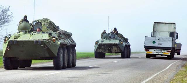 Ukrayna'nın Doğusunda Müdahale; 4 Ölü Var!
