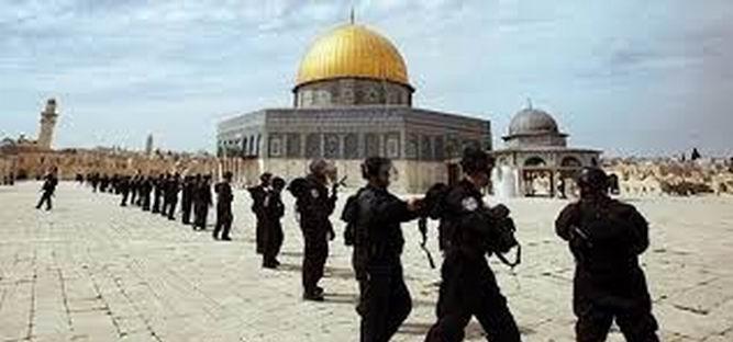 İsrail Bin İşgalciyle Girdi, Mescid-i Aksa'da Çatışma Çıktı