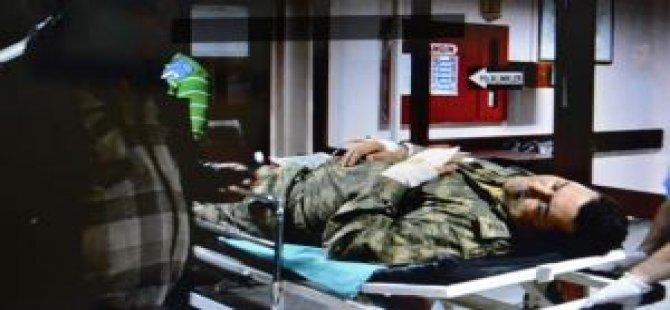 Askeri Birlikte Patlama: 17 Yaralı