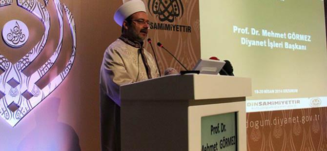 Mehmet Görmez: İnsanlık Çetin Bir Sınavda