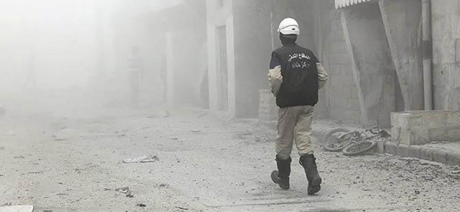 """Suriye'de """"Klor Gazlı"""" Saldırı İddiası"""
