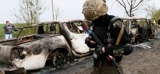Ukrayna'nın Doğusunda Çatışma