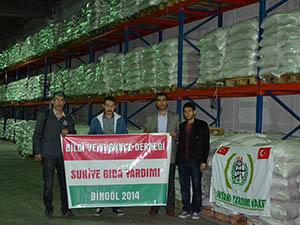 Bingöl'den Suriye'ye Yardım Tırı