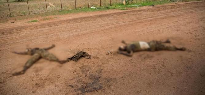 Güney Sudan'da Katliam