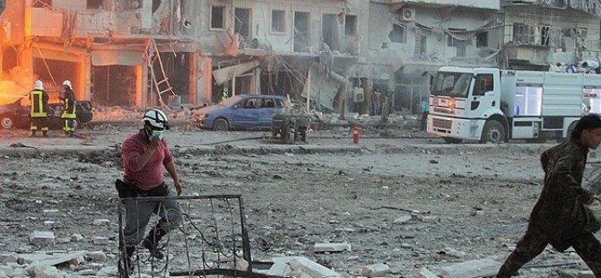 Esed Güçlerinin Saldırılarında 74 Kişi Öldü